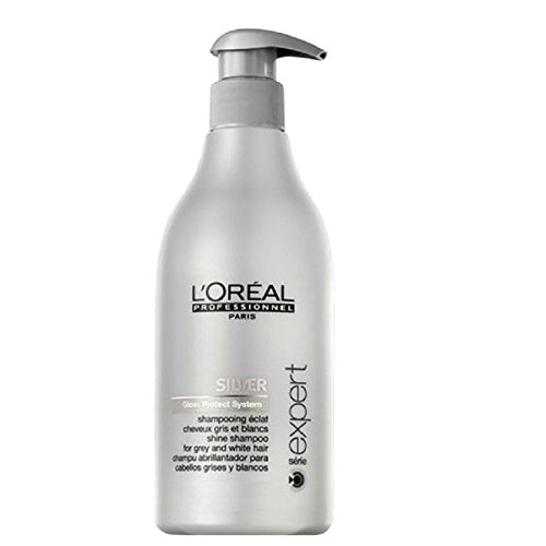Loreal Silver Glanz-Shampoo + Pumpe 1 x 500 ml Serie Expert Gloss Protect System by L'Oréal Paris