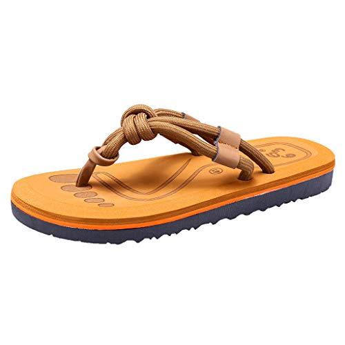 e Damenmode Paare Casual Flache Flip Flops Männer Outdoor Hausschuhe Strandschuhe Herren Schuhe Hallenschuhe Worker Boots Laufschuhe Sportschuhe Wanderschuhe Sport ()