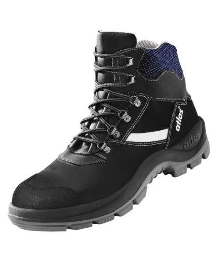 Alu-Tec 735XP Chaussures de sécurité S1/Chaussures de travail Chaussures de sécurité Noir - Noir