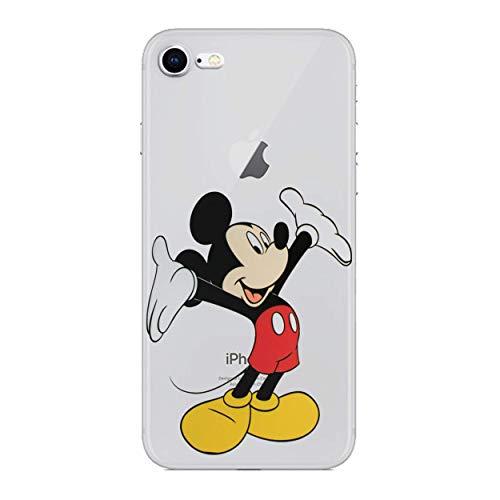 r Silikonhülle/Gel Hülle für Apple iPhone 5s 5 SE/Schirm-Schutz und Tuch/iCHOOSE/Mickey Maus ()