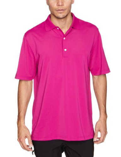 Greg Norman Collection Herren Pullover Performance Micro Pique Polo S mulberry (Norman Greg Collection)