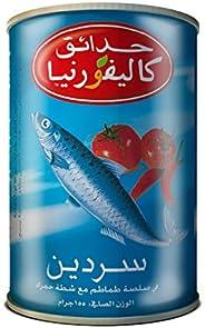 California Garden Canned Sardines in Hot Tomato Sauce 155g