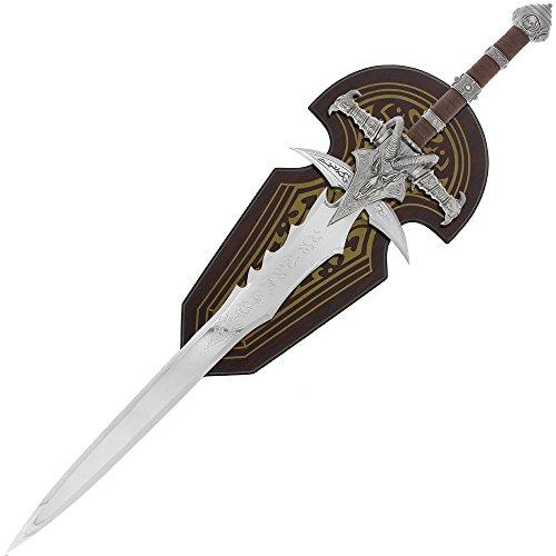 G8DS® World of Warcraft Frostmourne von Arthas Lichkönig Schwert mit Wandhalter WOW