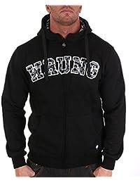 Hoodie Wrung Army Noir