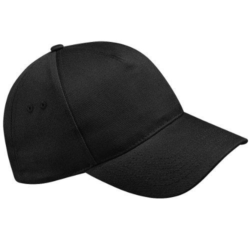 beechfield-cappellino-100-cotone-unisex-taglia-unica-nero