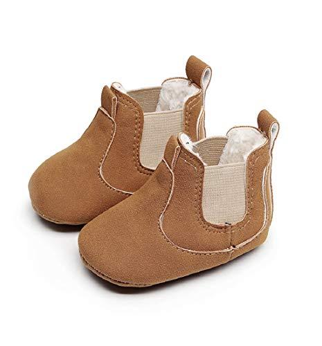 Chaussures Bébé Binggong Chaussures Enfant en bas âge Nouveau-né Bébé Garçons Fille Berceau Bottes D'hiver Prewalker Chaud Martin Chaussures Pour Bébé 0-6-18Mois