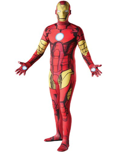 Imagen de disfraz de segunda piel iron man? adulto  m  1.50 m a 1.60 m