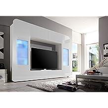 Suchergebnis auf f r wohnwand modern hochglanz for Wohnzimmerverbau modern