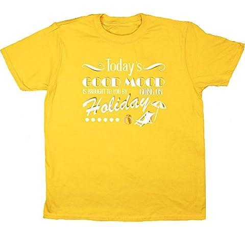 HippoWarehouse - T-shirt - Fille - jaune - 11 ans