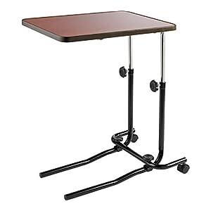 Beistelltisch/Übertisch für Bett oder Stuhl, zum Lesen, Essen, Schreiben im Bett oder Stuhl, höhenverstellbar 53cm–82cm, Tischplatte bis zu 45° kippbar, von Drive DeVilbiss