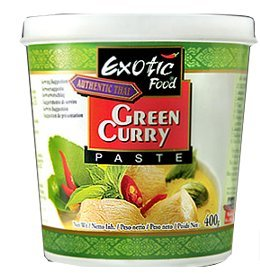 Exotic Green Curry Paste, 400g