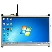 Waveshare Raspberry Pi 10.1inch HDMI LCD 1024×600 high resolution HDMI interface Resistive Touch Screen LCD Direct-connect with Raspberry Pi 2 3 Model B B+