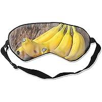 Schlafmaske aus Naturseide, Augenbinde, super glatte Augenmaske, Reife Bananen preisvergleich bei billige-tabletten.eu