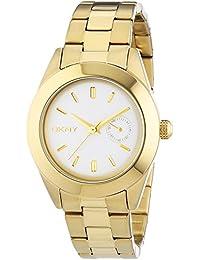 DKNY  - Reloj de cuarzo para mujer, correa de acero inoxidable