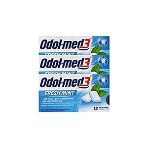 3x ODOL MED 3 Fresh Mint Kaugummi PZN 34157