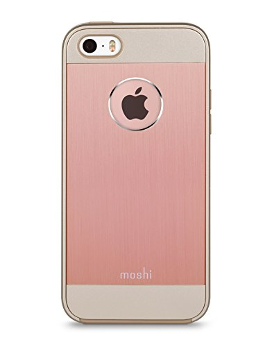Moshi 99MO061251 iGlaze Armour Schale für Apple iPhone SE goldes - 5 Moshi Phone I