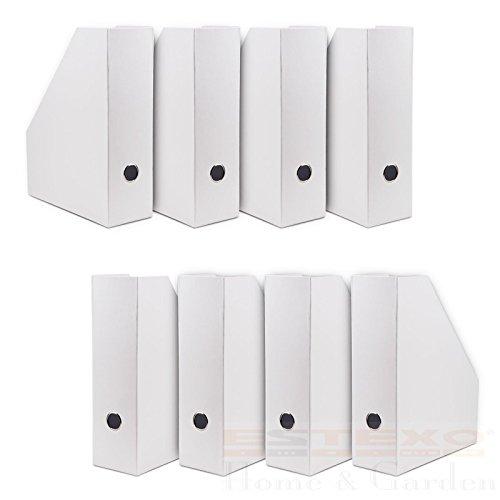 8-x-zeitschriftensammler-weiss-zeitschriftenhalter-stehsammler-buro-ablage-ordner