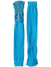 ToeSox Women's Grip Half Toe Scrunch Socks, Small, Skydiver by ToeSox