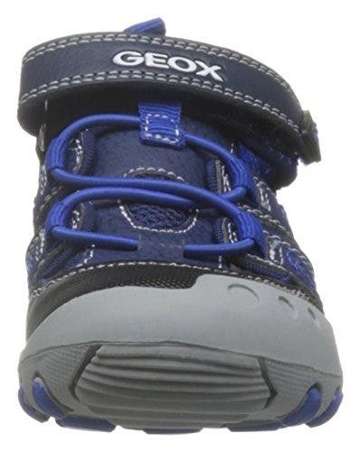 Geox Kyle A, Sandales Bout Fermé Garçon Bleu (Navy/Royalc4226)