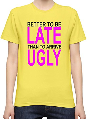 better-to-be-late-slogan-t-shirt-femme-xx-large