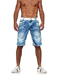Red Bridge Jeans Denim Shorts Herren kurze Hose Jeans-Short R31151 Blau