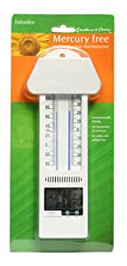 Botanico Let's Grow Quecksilberfreies Minimum-Maximum-Thermometer