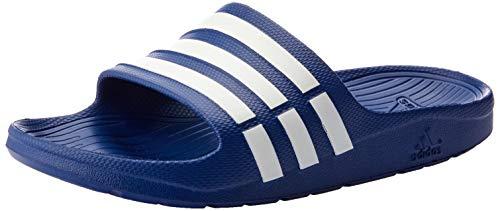 half off 15edb 0aacf Adidas Duramo Slide, Ciabatte da Unisex Adulto, Blu (True BlueWhiteTrue  Blue), 46 EU (11 UK)