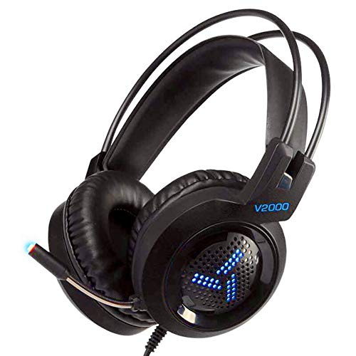 ZYWCXM Stereo Xbox One Professional Competitive Game PS4 N7 Wired PC Gaming Headset mit Mikrofon Geräuschunterdrückung für PC/Mac / PS4 / Xbox One