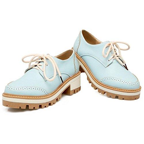 Coolcept Femmes Mode Chunky Escarpins blue