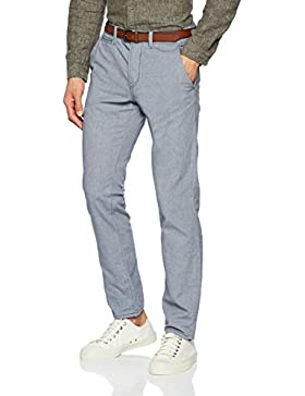 Tom Tailor Denim Basic Chino Yd with Belt, Pantalones para Hombre