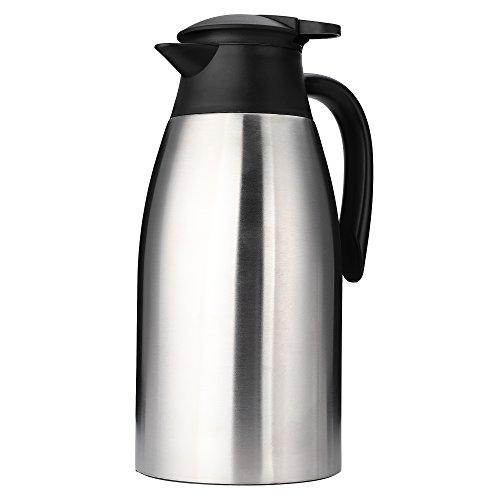 Trusber 2L scatola in acciaio inox, termosifoni caffè, aspetto elegante di design,...