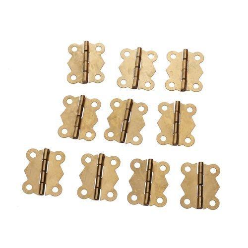 onewiller 10pcs Mini Iron Butterfly cerniere cassetto porta Butt Cerniera