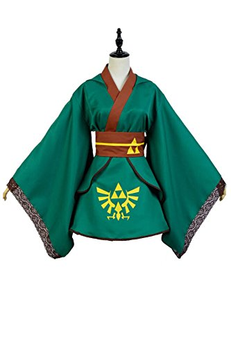 Fuman The Legend of Zelda Link Cosplay Kostüm M (Legend Of Zelda Link Cosplay Kostüme)