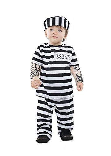 Imagen de disfraz preso tattoo talla 7 12 meses tamaño bebe