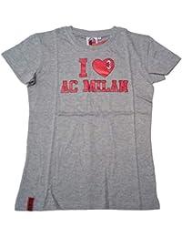 Milan Camiseta Camiseta para Mujer I Love Producto Oficial (Talla M) 410b5e0f86827