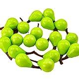Black Temptation Esposizione decorativa di frutta di mini frutti artificiali di stile 80 pezzi