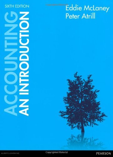 Accounting: an Introduction by Eddie McLaney (2012-06-14)