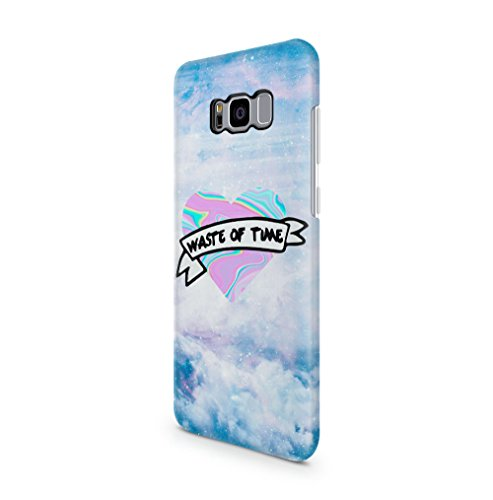 waste-of-time-holographic-tie-dye-heart-stars-space-samsung-galaxy-s8-plus-snapon-hard-plastic-phone