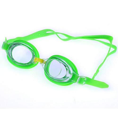 Moocevill - Cartoon-Kind-Kind-Silikon-wasserdichte Schwimmbecken Tag Wasser Schwimmbrille Glas-Brillen Zubehör für Junge Mädchen [Grüne]