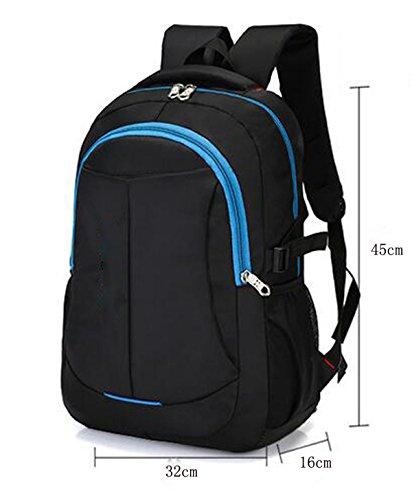 TUOZA Außen Männer Casual Computer-Tasche Blue