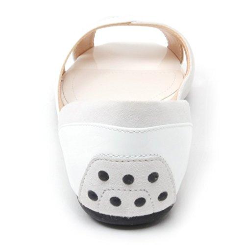 B4600 sandalo donna TOD'S OLLI TI INCROCI scarpa bianco/grigio sandal shoe woman Bianco/Grigio