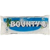 Bounty Barres Chocolatées Cœur Coco 6 x 28,5 g - Lot de 8