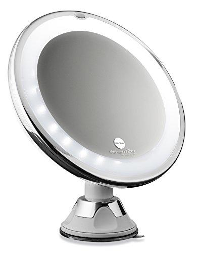 @ MACOM Sensation 224 SwinGo Specchio con ventosa cosmetico Ingranditore 10X con Luci led ottimo per trucco e make up. confronta il prezzo online