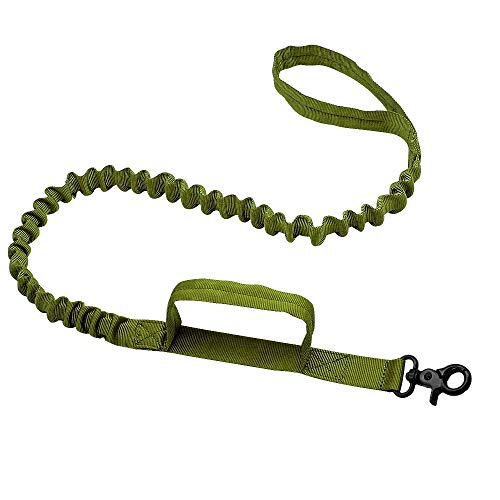 ne Nylon Bungee Leashes Führleine für mittelgroße Hunde German Shepherd (Color : Green, Size : 99cm) ()