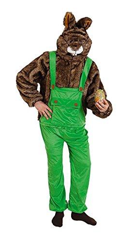Kostüm Hase mit Latzhose für Damen Osterhase