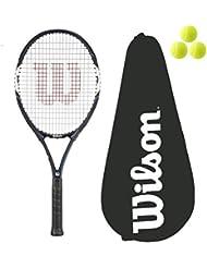 Wilson Surge Power 108 raqueta Tenis + 3 pelotas