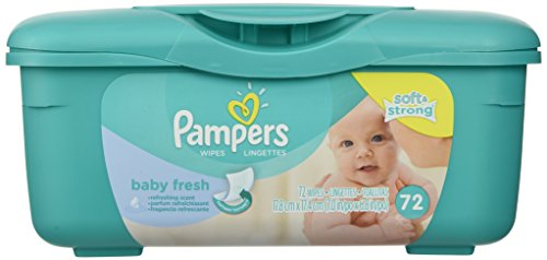 Pampers Baby Wipes Tub Fresh Baby Fresh 72-Count 4164hQywIfL