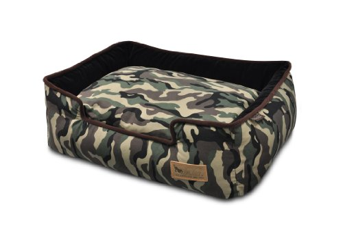 P.L.A.Y – Pet Lifestyle & You PY3003BXLF Lounge Bett Camouflage, XL, grün