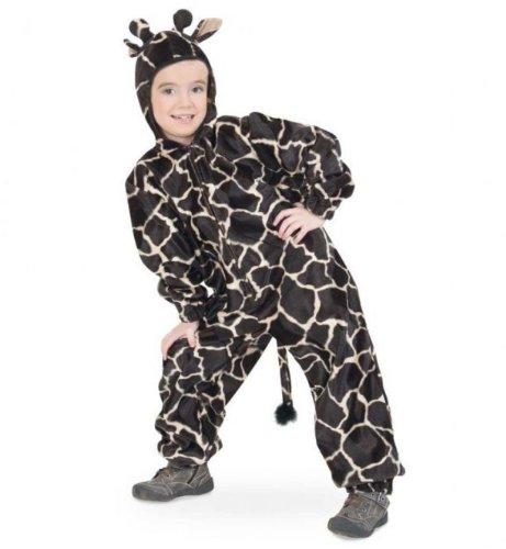 Farmer Kostüm Overall - Fasching Karneval Kinder- Kostüm Overall Giraffe mit Kapuze: Größe: 140
