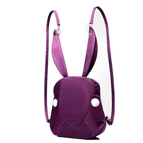 Eysee - Borsa a Zainetto donna Unisex, neonati Ragazza Purple